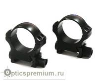 Быстросъемные кольца Recknagel на weaver BH 6,0mm на кольца D30mm (низкие)