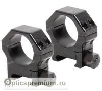 Небыстросъемные кольца Contessa на базу Picatinny, 30 мм, BH= 12 мм