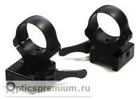 Быстросъемные раздельные кольца Apel EAW на Weaver 30 мм (высокие)