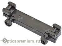 Небыстросъемный моноблок EAW для прицелов с шиной LM, BH 16.5 мм на Heym B26
