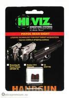 Пистолетная мушка HiViz целик для CZ75, 85, Р01 красный