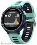 Спортивный GPS навигатор Garmin Forerunner 735XT темно-синие с голубым, HRM-Run