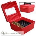 Кейс Deluxe для 100 патронов калибров .22-250 Rem - .375H&H MTM