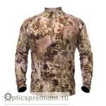 Футболка термобельё Kryptek Hoplite Merino wool LS ZIP (Highlander)