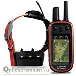 Система дрессировки и отслеживания перемещений собаки Garmin Alpha 100 c датчиком-ошейником TT15