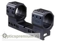 Тактический кронштейн Spuhr D34мм для установки на Picatinny, без наклона (H38мм)
