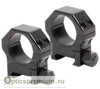 Небыстросъемные стальные кольца Contessa на базу Picatinny, 26 мм, BH=12 мм