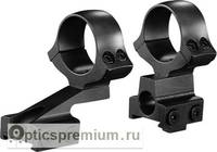 Раздельные кольца Kozap CZ550 с выносом D30 мм с окном визира (No.13) BH17.8