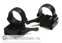 Быстросъемные раздельные кольца Apel EAW на Weaver 30 мм (средние)