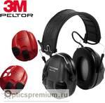 Активные наушники Peltor Sport-Tac, сменные боковые панели, (красные и черные)