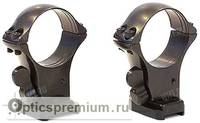 Быстросъемные кольца MAK 30 мм с базами на Weatherby Mk V