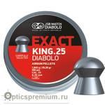 Пульки JSB Exact King кал. 6,35 мм 1,645 г.