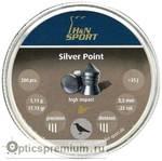 Пульки HN Silverpoint кал. 5,5 мм 1,11 г