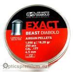Пульки JSB Exact Beast кал. 4,52 мм 1,05 г.