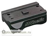 Быстросъемный кронштейн MAKnetic для установки прицела Aimpoint Micro на карабин Merkel KR-1