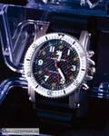 Тактические часы Ledwave Night Eyes II, SS/Black, белый свет