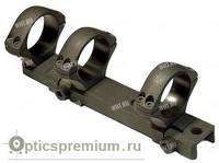 Небыстросъемный моноблок Sako, 3 кольца 30 мм Medium на Sako TRG 21...42