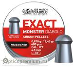 Пульки JSB Exact Monster (redesigned) к.4,52 мм